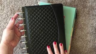 Planner Peace | Turning an Erin Condren or Inkwell Press Planner into a Disc Bound Bullet Journal