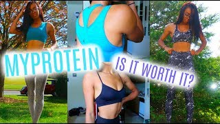 MYPROTEIN TRY-ON HAUL | Best Affordable Workout Clothes? • Lawenwoss