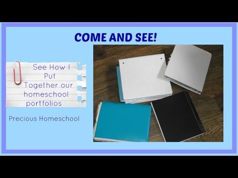 Putting Together a Homeschool Portfolio