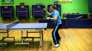Table Tennis - Footwork (part 3) Tips for beginners. Coach Viktor Tolkachev