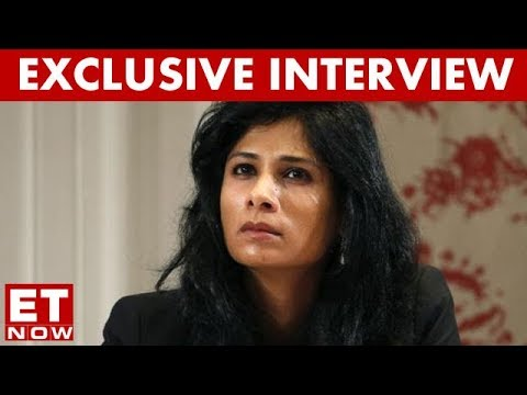 Prof. Geeta Gopinath In An Exclusive Interview With ET NOW From IMF Headquarters