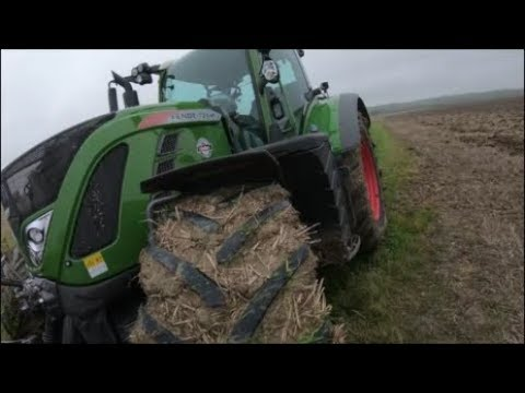 JD 6190R Vs Fendt 724, Same Field Same Plough