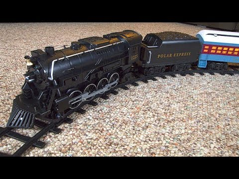 I Crashed My Lionel Polar Express Train Set!