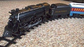 I Crashed My Lionel Polar Express Train Set!