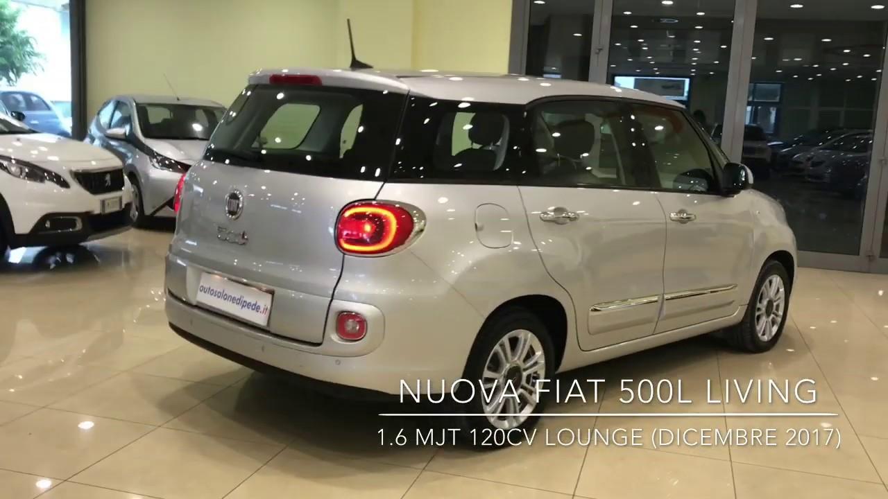 Fiat 500l Living 1 6mjt Lounge Usata Fiat 500 Living 7 Posti