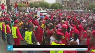 مظاهرات في جنوب أفريقيا تطالب برحيل زوما