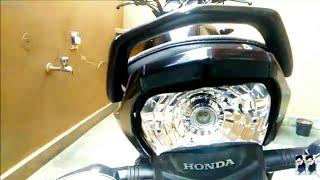 Problems on my honda livo after wheelie crash || some changes on tvs jupiter