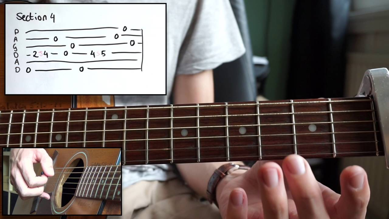 Owl City Brielle Sky Sailing Acoustic Guitar Lesson How To