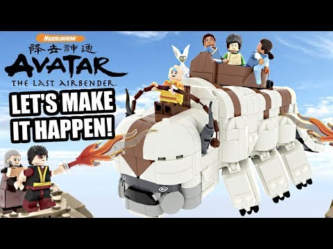 Let's Make LEGO Avatar The Last Airbender Return!