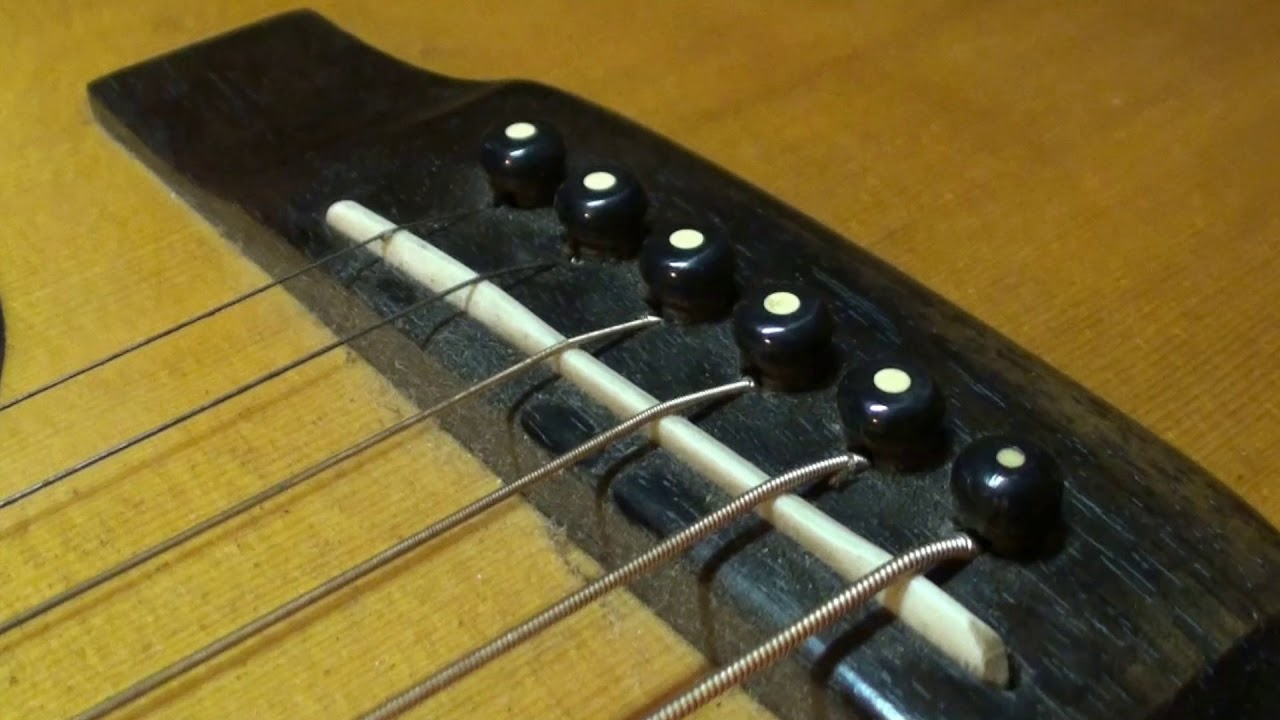 Acoustic Guitar Saddles And All Guitar Nuts Intonation Tips Facts You Should Know About Youtube