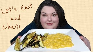 EAT LUNCH WITH ME! MINI MUKBANG