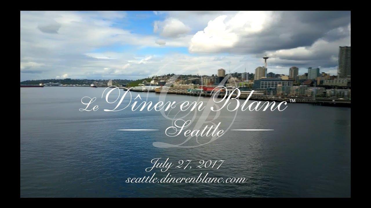 Diner en Blanc - Seattle 2017, Official Video
