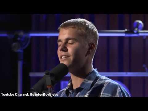 Justin Bieber - Let Me Love You (Acoustic) BBC Radio Live