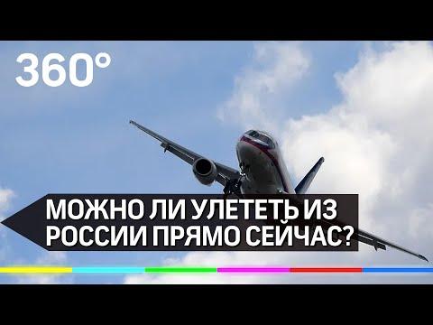Границы открыты: куда можно улететь из России прямо сейчас?