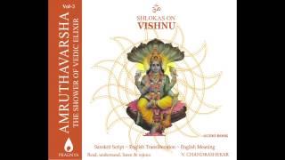 """Amruthavarsha - Shlokas on Vishnu - """"Gajendra Moksham"""" - Uma Mohan"""