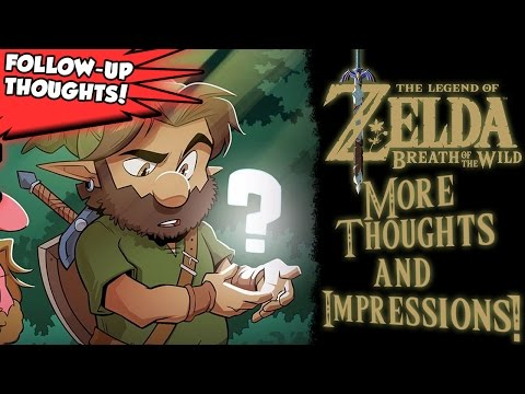 The Legend of Zelda: Breath of the Wild - Follow-Up Thoughts! Completion Struggles!