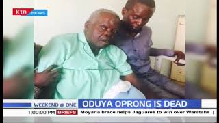 Former Amagoro MP Oduya Oprong dies at the age of 83