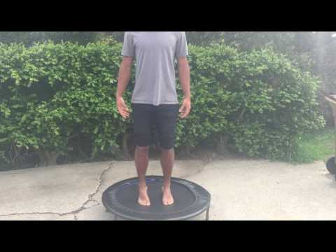 Rebounder Plyometric Training