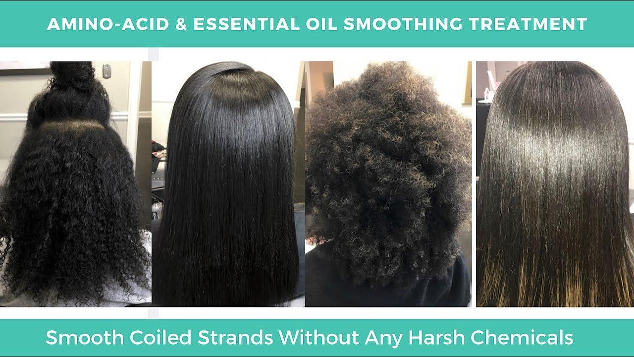 Smoothing Hair Treatment Amino Acid Smoothing Treatment Smoothing Hair Treatment For Natural Hair Youtube