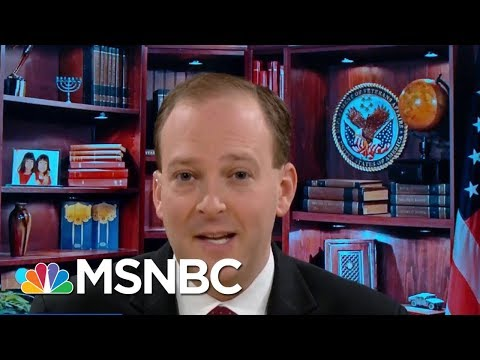 Representative Lee Zeldin Shares The State Of The GOP Tax Plan | Velshi & Ruhle | MSNBC