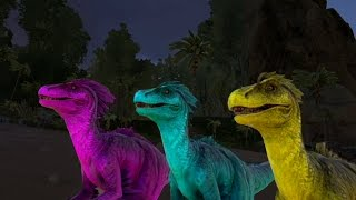 How to change dino colours in Ark!!!!