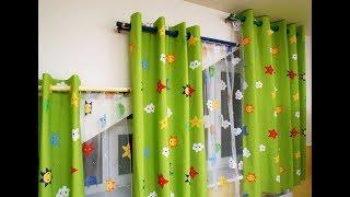 видео Шторы для детской комнаты