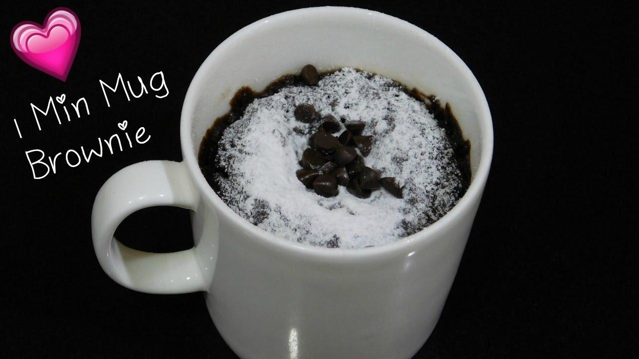 ✨ Brownie Microwave Recipe Eggless Mug Minute In 1 deBxoCr