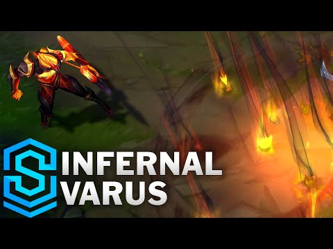 Infernal Varus Skin Spotlight - League of Legends