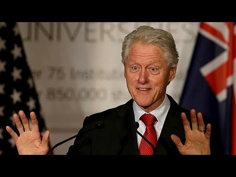 Bill Clinton Writing A Presidential Thriller Novel