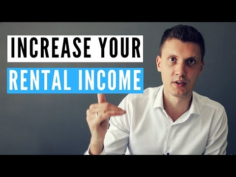 How to increase your rental income.