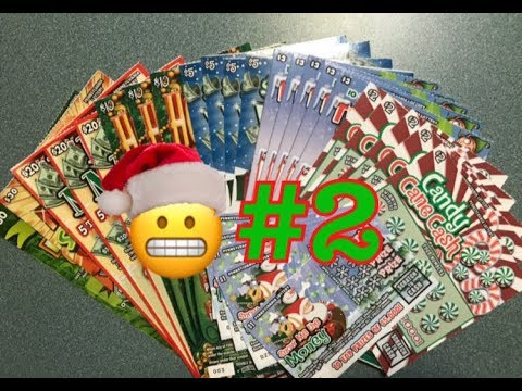#2   Holiday Pennsylvania Lottery Scratch Off Tickets