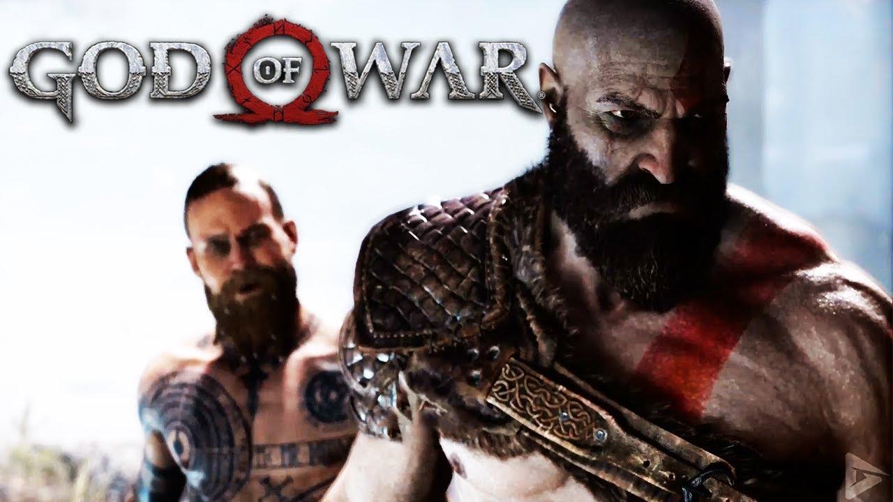 The Stranger Vs Kratos Full Boss Fight God Of War Ps4 Pro 2018