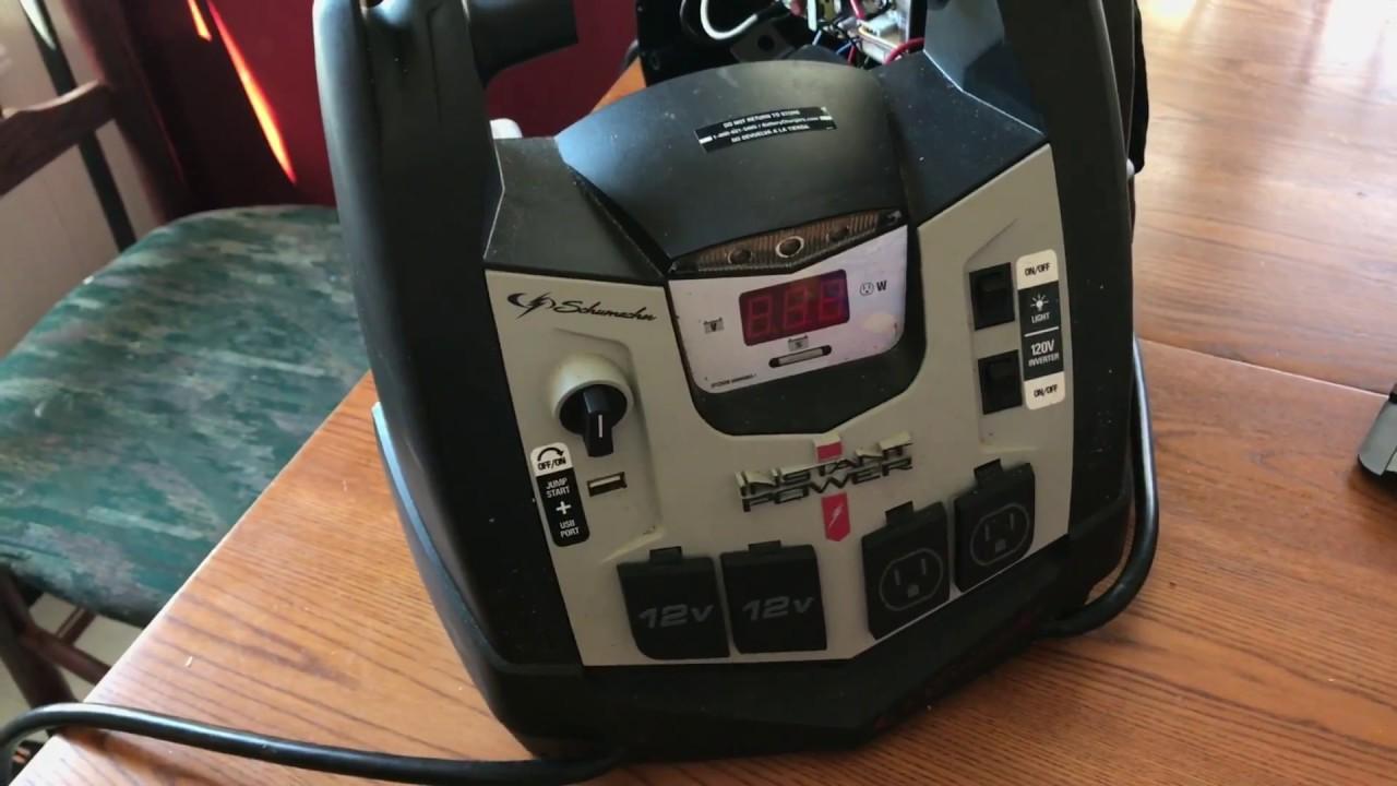 Portable Car Jump Starter >> Schumacher car jump starter - air compressor not working ...
