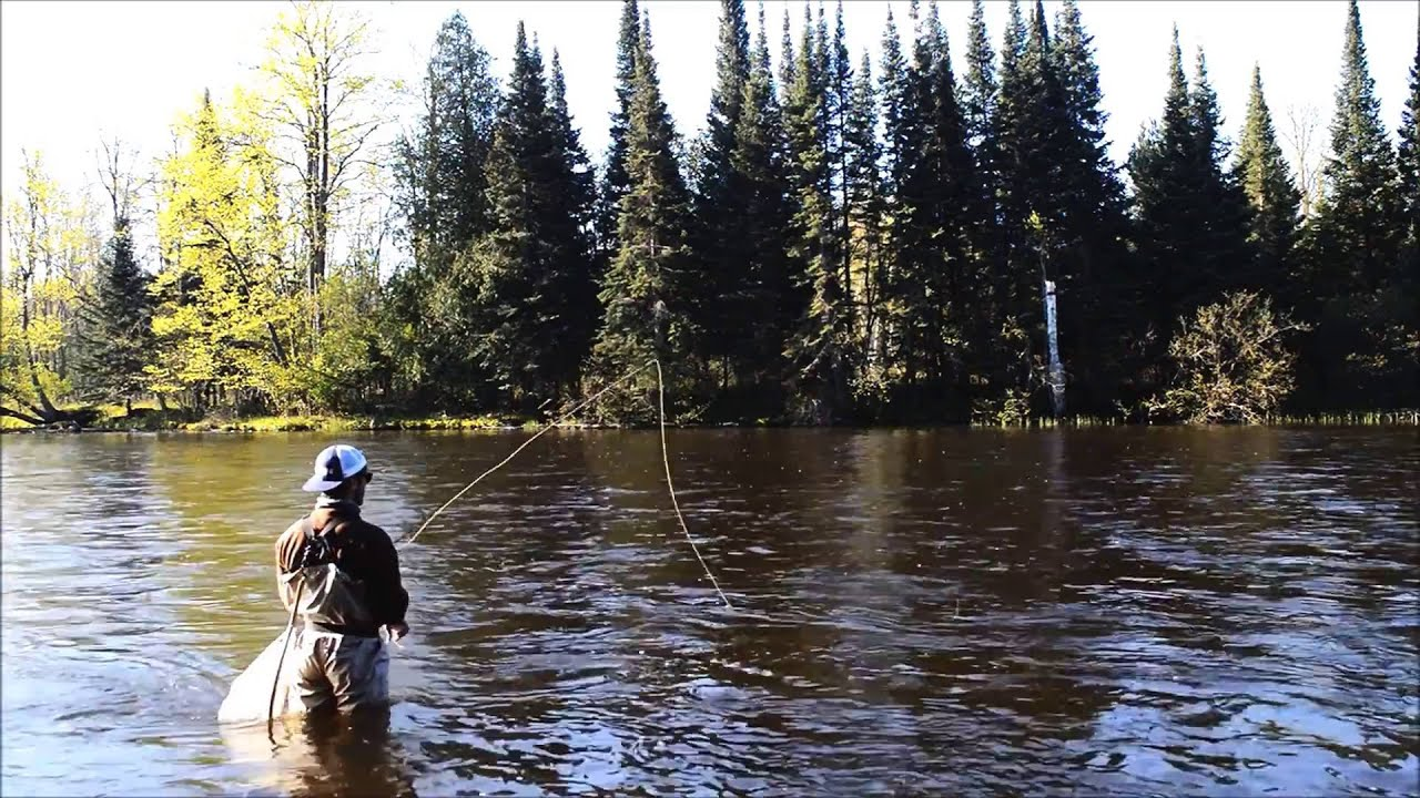 Ausable river fly fishing youtube for Ausable river fishing report