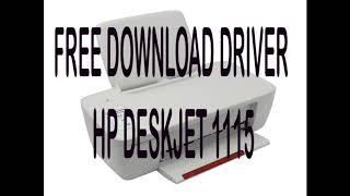 Hp Deskjet Ink Advantage 1115 Driver Download Free For Windows 7 8 10 32 64 Bit Youtube