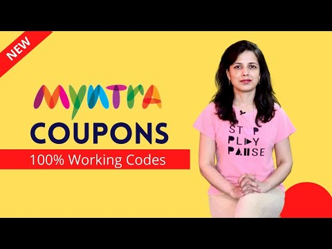 ✅  Myntra Coupons 2020 | Myntra | 100% Working Promo Codes, Save Big Money on Myntra Online Shopping