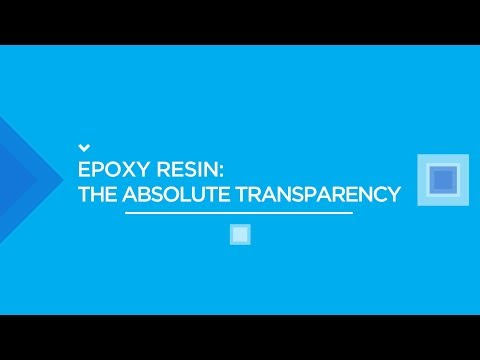 EPOXY RESIN: HOW TO REALISE A TABLE (TRANSPARENT)