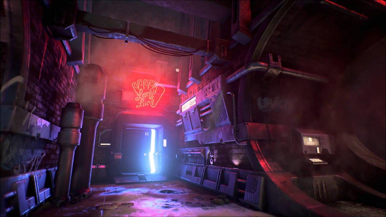 Cyber Girl Wallpaper Cyberpunk Alley Unreal Engine Youtube