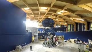 Timelapse of Infinity Blue sculpture creation | The Eden Project