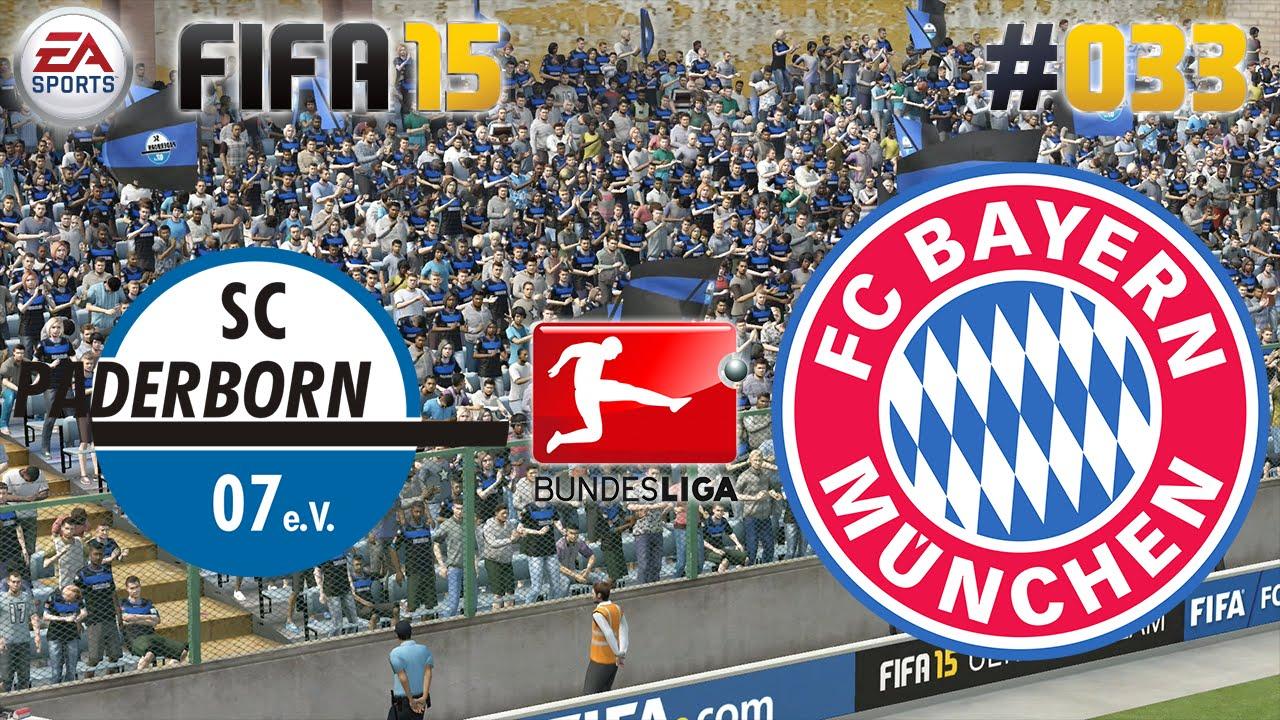 Fc Bayern Vs Paderborn