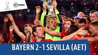 Bayern Munich vs. Sevilla (2-1 AET) | UEFA Super Cup Highlights