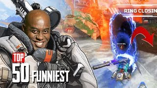 APEX LEGENDS GOES WRONG - TOP 50 FUNNIEST MOMENTS in Apex Legends