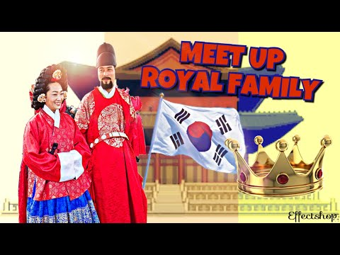 Royal Family of Korea @ Incheon International Airport (Korea Tradisional Cultural Experience Centre)