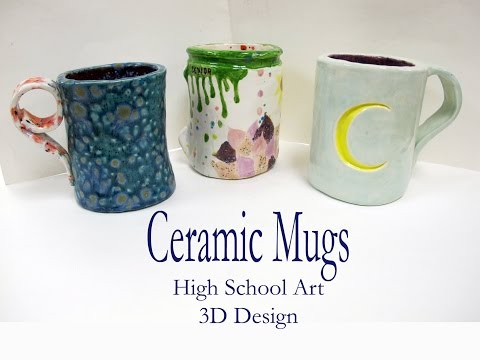 HS Art - Clay Slab Mug Demo