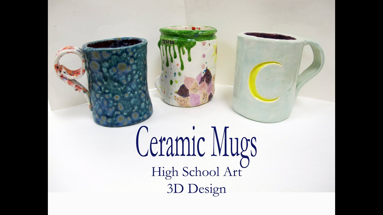 Hs Art Clay Slab Mug Demo Youtube