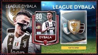 HOW TO UNLOCK LvL DYBALA | FIFA MOBILE 19 S3 UNLOCKING LEAGUE VS LEAGUE MASTER DYBALA