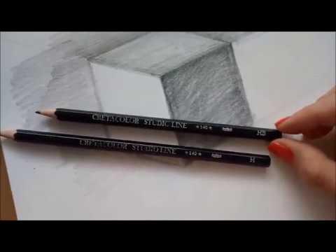 Skola Kreslenia Studia Kocky Perspektiva A Tienovanie Youtube