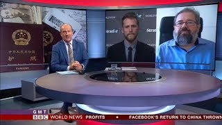 COTRI China Outbound Tourism Research Institute on BBC World News
