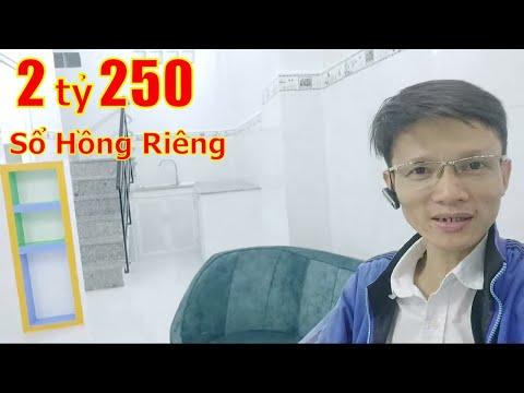 Video Nhà Bán Hẻm 297 Tân Hòa Đông Quận Bình Tân Giá 2 Tỷ 390