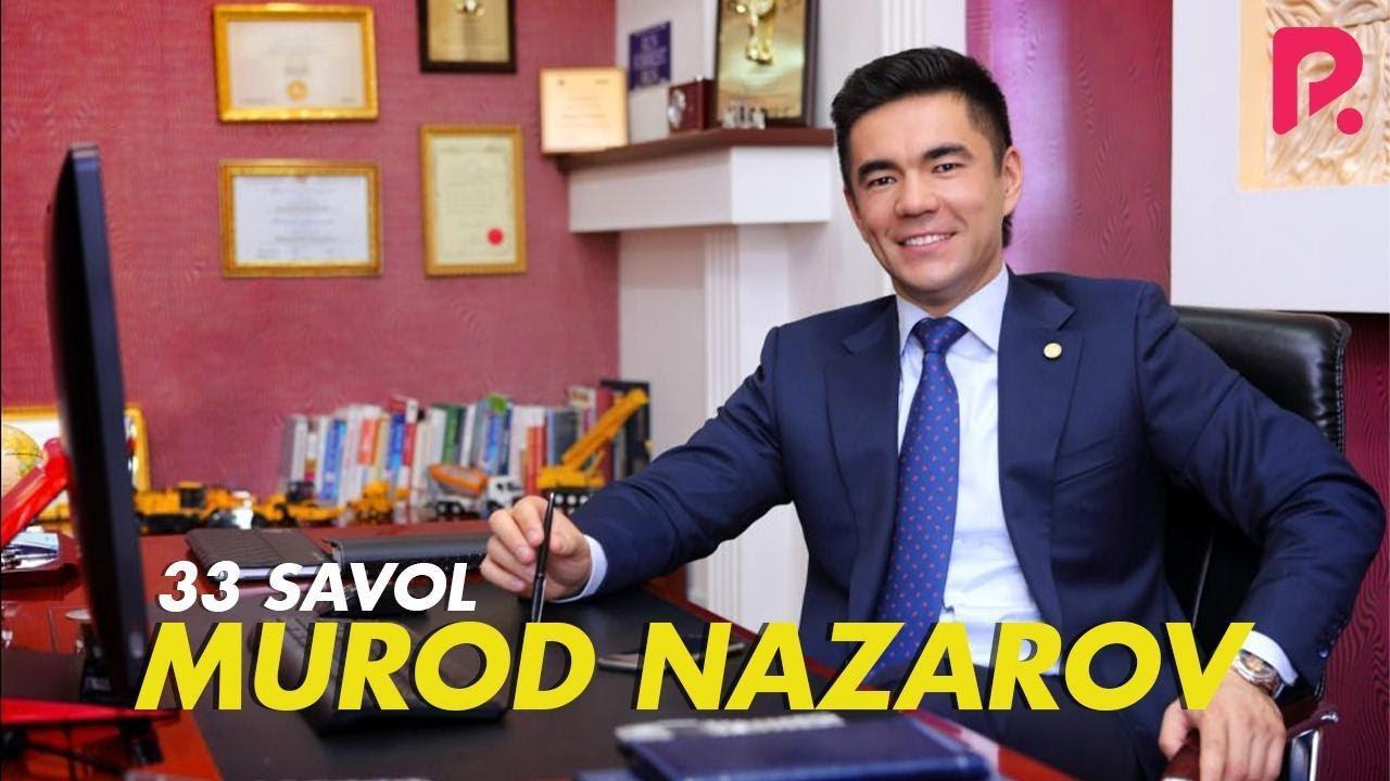 33 savol - Murod Nazarov / Kichkina bo'lsada masjid qolsin deyman. ( anons )